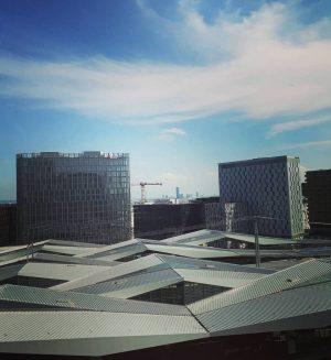 Über den Dächern des Hauptbahnhofs, aufgenommen von @roory0815 - vielen Dank! #wienliebe #wienstagram ...