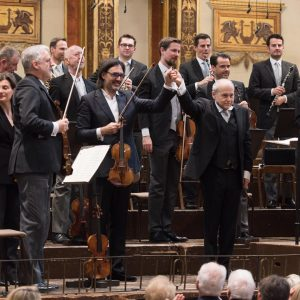6th Subscription Concerts with Maestro Fischer and soloist @lkavakos in the @musikverein.wien last ...
