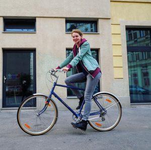 Mit Sonnenschein in die neue Woche starten 😊🌞🚲 #fahrradwien #igersvienna #biketowork #lovecycling Vienna