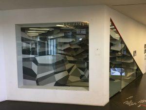 Dekonstrukt - Installation von Beatrix und Dietmar Hollenstein im Asifakeil / Q21 / Museumsquartier Wien, 18.1. -...