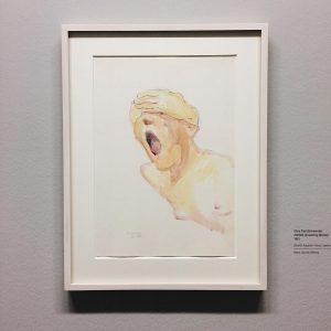 Untitled (Screaming Woman), 1981, Maria Lassnig