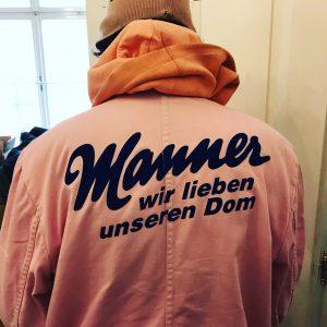 Seit Jahrzehnten unterstützt die Firma Manner die Restaurierung des Stephansdoms, was die Mitarbeiter der Dombauhütte auch gerne...