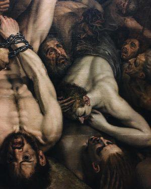 Frans Floris- The last judgement // details @kunsthistorischesmuseumvienna