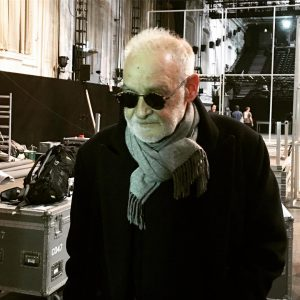 Béla Tarr auf Wienbesuch für seine Produktion Missing People, die bei den Wiener Festwochen uraufgeführt wird #festwochen2019...