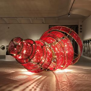 Ai Weiwei, Descending Light with a Missing Circle, 2017 | CHINESE WHISPERS, New Art from the Sigg...