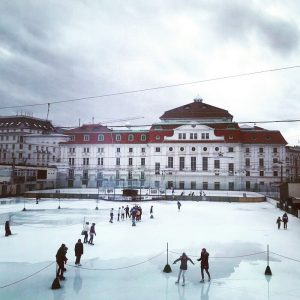 #iceskating in #vienna