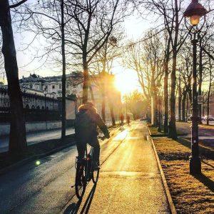 Was war das für ein schöner Tag! 😊🚲 #fahrradwien #feelslikespring #igersvienna Vienna