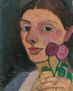 Yesterday, we shared a painting detail of two beautiful flowers and asked you to name the artist....