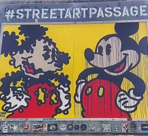 back when we were in Vienna... #streetartpassage #streetartpassagevienna #tb #vienna #citytrip #mickeymouse #disney #disneylove #graffiti #graffitiart #graffitivienna...