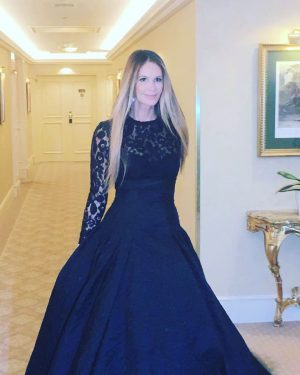Wow!! What a Grand dress ❤️ @ellemacphersonofficial #grandhotelwien #grandhotelwienaustria Grand Hotel Wien
