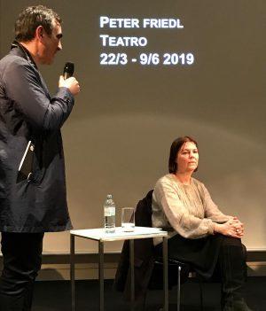 @KunsthalleWien #PETERFRIEDL. #TEATRO Pressekonferenz: Donnerstag 21. März 2019 Eröffnung: #opening Donnerstag 21. März 2019 | 19 Uhr...
