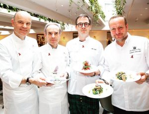 Meet today the four incredible chefs who will be in charge of the ...