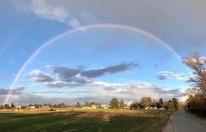 #nofilter #rainbow #regenbogen #igerswien #igersvienna #wienliebe #lobau Lobau