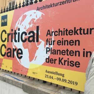 Coming soon! #criticalcare_azw Ab 25.4.2019 @architekturzentrum_wien #bestofvienna #Vienna #Architektur #architecture #igersaustria #igersvienna #viennablogger #vienna-city #archilovers #instagood #1000thingsinvienna...