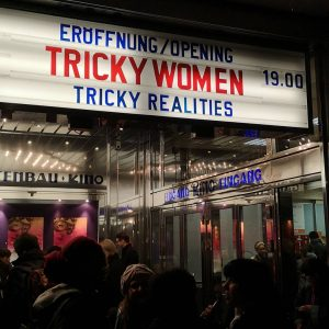 The celebrations start in a couple of minutes! #opening #trickywomentrickyrealities #staytricky #wearetrickywomen #womeninanimation ...