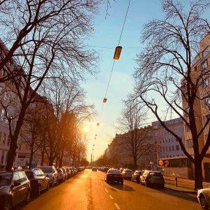 Die Heinestraße im 2. Bezirk wurde 1781 auf Veranlassung Josephs II. als Verbindung zwischen dem Augarten und...