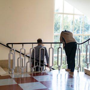 Ganggeschichten. . #wienstagram #funkhauswien #staircase #oe1ganggeschichten #ganggeschichten #staircasedesign #igersvienna #wien Funk Haus