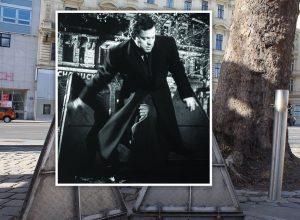 """Orson Welles alias Harry Lime am Weg in den Wiener Untergrund. Der """"Dritte Mann"""" ist der wohl..."""