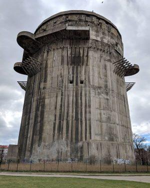 Зенитная башня времён второй мировой