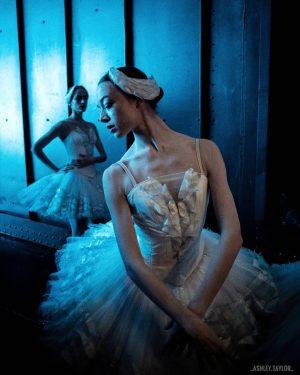 Backstage at Swan Lake with @mariebreuilles 💞 Wiener Staatsoper