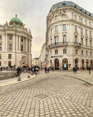 We skipped through the cobblestone streets and basked in the romance of Vienna until somebody skipped right...