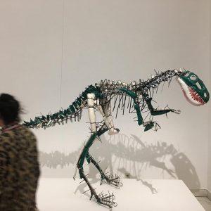 Brutosaurus @kunstforumwien // #JuliaKrauseHarder #ArtBrut #Künstlerinnen #flyinghigh