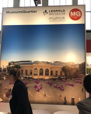 #ITB2019 same procedure every year, @mqwien @leopold_museum @mumok_vienna . #feelaustria Berlin, Germany
