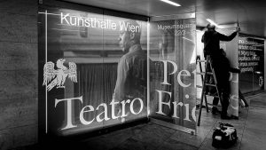 Opening Tuesday March 21st at Kunsthalle Wien, 7pm Peter Friedl Teatro #peterfriedl #kunsthallewien ...