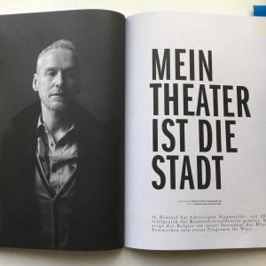 Interview + Story im aktuellen @faq_magazine. Schön sind sie geworden, danke! 💕 #festwochen2019 ...