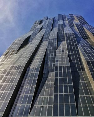 DC tower Created by the French architect Dominique Perrault. Hight to the top: ...