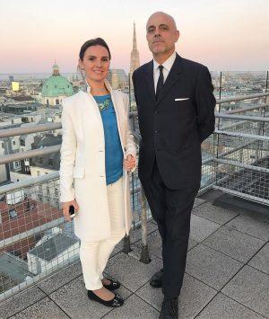 Dr. Matt trifft zum Gespräch Oksana Lyniv, die ukrainische Dirigentin, die seit September 2017 Chefdirigentin der Grazer...