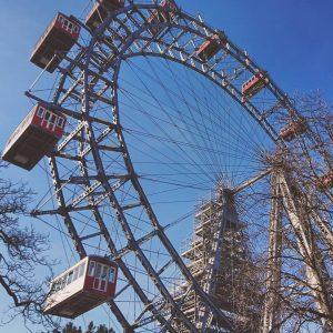 Vienna in springtime #riesenrad #prater #giantwheel #landmark #myvienna #mycity #lovevienna #1000thingsinvienna #1000thingstodoinvienna #igersaustria #igersvienna #igerseurope #myaustria #visitaustria...
