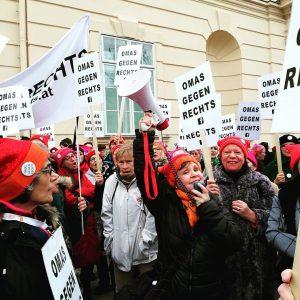 #großdemo in Wien 16.3. !!! Wir stehen zusammen gegen den Rassismus! #omasgegenrechts #humanrights ...