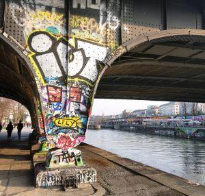 #graffiti #bridge #muralart #mural #art #painting #urban #urbanart #colours #inthestreets #streetart #architecture #myvienna ...