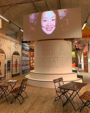 Meeting of two heroines of architecture at #AzW: Xu Tiantian in our Denise Scott Brown exhibition on...