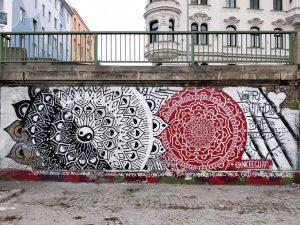 Franzensbrücke, 1030 Artist: @niceeguyy www.viennamurals.at Blog / Online Map / Book #mural #murals ...