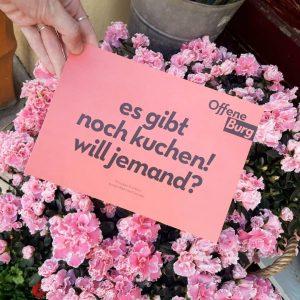 #workshoppen #plaudern #tanzen #basteln Hoffentlich bleibt uns das gute Wetter bis zum #BurgÖffner ...