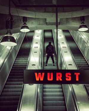 Going Underground .. to jam with wurst ... ;) • • outtake from a shooting for the...