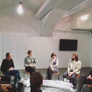 Wednesday with ...#12 Alexandra-Maria Toth in conversation with #alicevonalten #lisagroßkopf #lenarosahändle #solikiani #davidmeran ...