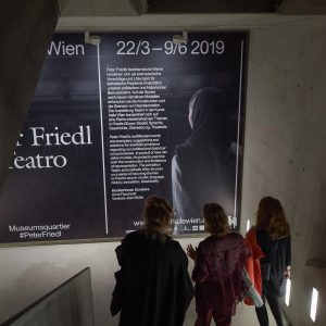 "Some impressions from last nights opening of ""Peter Friedl. Teatro"" – his multifaceted reflections on language, history,..."