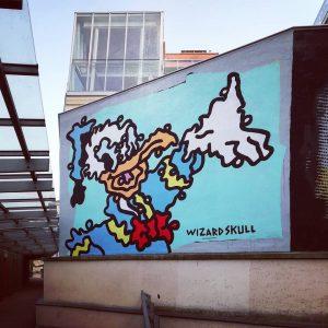 @wizardskull at @mqwien curated by @artis.love - #wizardskull #donaldduck #streetart #urbanart #streetartdaily #streetartnews ...