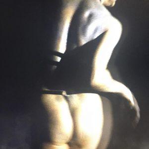 """Lili Reynaud-Dewar, """"Danse Lili nuit"""" (2018, video still) @furieuxboy @emanuellayr #lilireynauddewar #spikeartmagazine Galerie Emanuel Layr"""