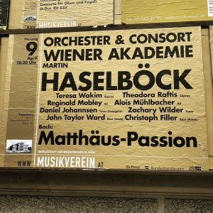 3 continents in 6 days: St. Matthew Passion goes international! First stop: @Musikverein ...