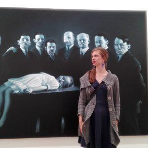 Odkąd zobaczyłam przed ponad 5 laty retrospektywną wystawę tego artysty całkowicie zakochałam się ...