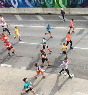 HeldInnen von oben 🏆#ViennaCityMarathon #vcm #vienna #wien #laufen #aktiv #marathon