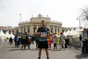 21,0975 km done! Last year: 1:44:53 This year: 1:40:44 Thank you @vienna_city_marathon , see you next year...