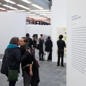 """Opening within exhibition """"On the New. Young Scenes in Vienna"""" with #Gärtnergasse #GOMO ..."""