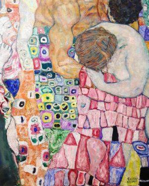 Life and Death, Gustav Klimt, detail #gustavklimt #colors #art #detail #picoftheday #vienna #trip ...