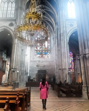 In my previous post I showed you guys a photo of this beautiful church (in Vienna) from...