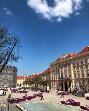 The perfect Spring day at MQ. #vienna #igersvienna #austria